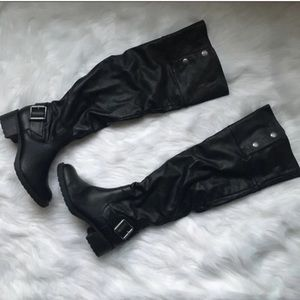 New Vera Wang Over the Knee Thigh Winter Boots